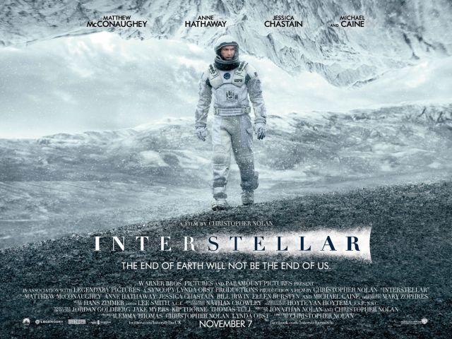 Interstellar Main One Sheet QUAD
