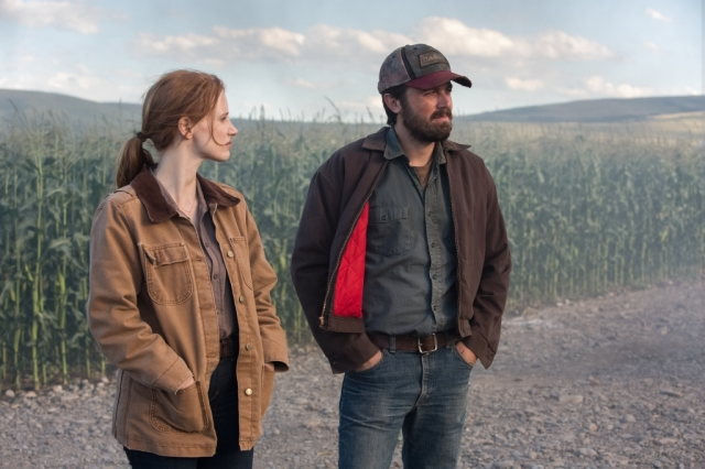 Jessica Chastain and Casey Affleck