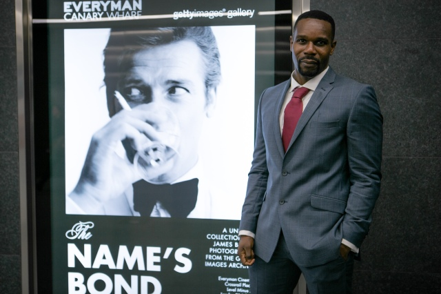 The Names Bond Exhibition Launch at the Everyman Cinema, Canary Wharf, London